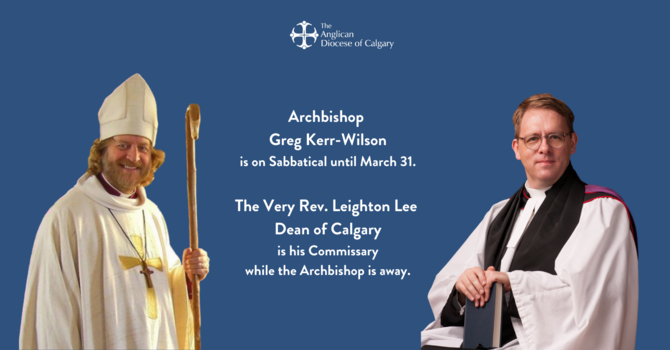 The Archbishop's Sabbatical image