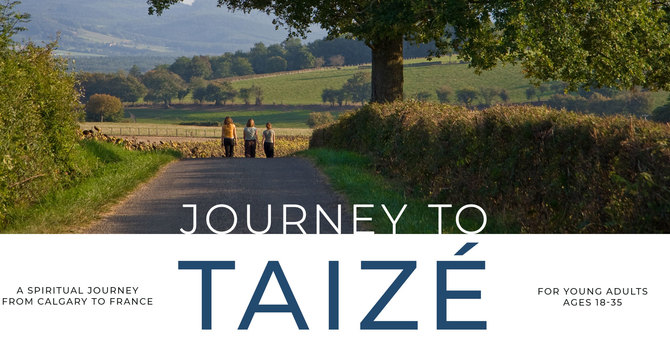 Young People are invited to Journey to Taizé image