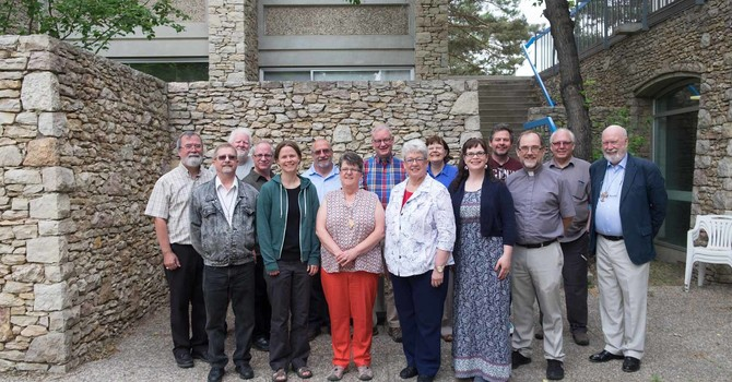 TERRITORY CLERGY AND BISHOP attend ministry training consultation image