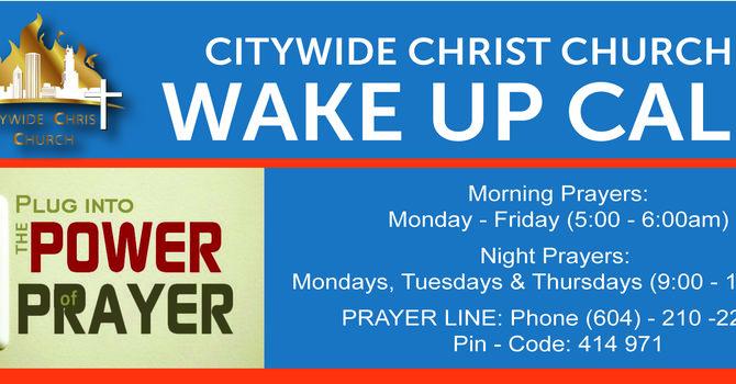 CCC Prayer Call