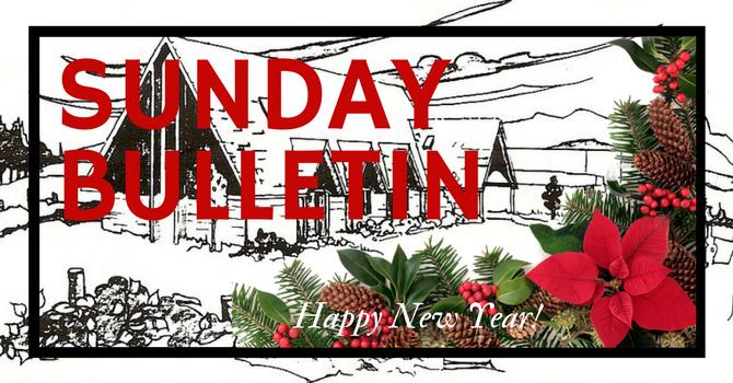 Bulletin - December 31, 2017 image