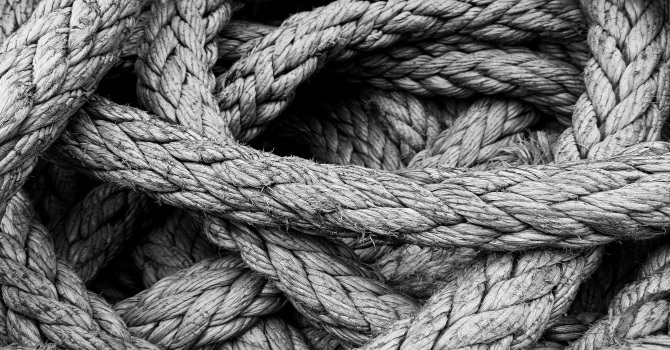 All tied up....? image