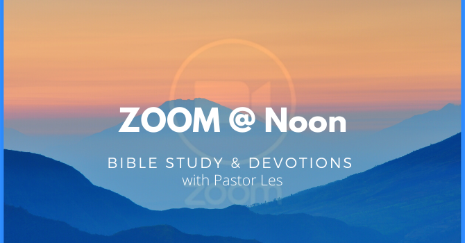 Zoom @ Noon Thursdays