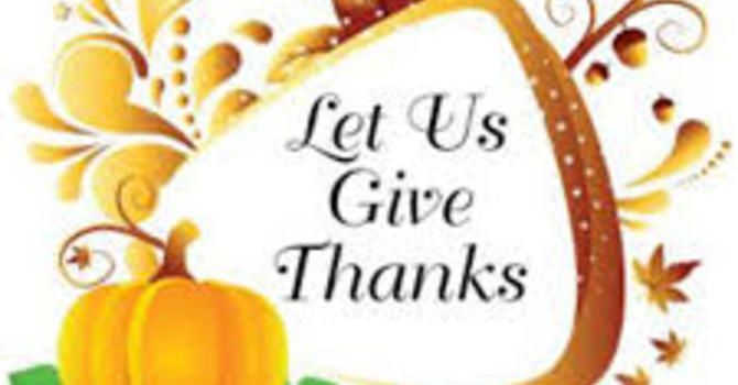 Harvest Thanksgiving image