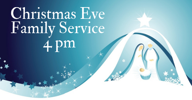 Bulletin - Christmas Eve Family Service image