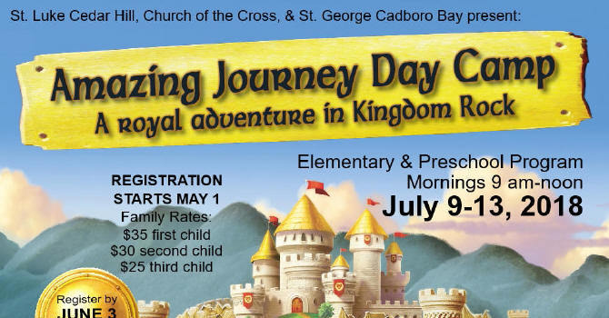 Amazing Journey Day Camp - Registration Open! image
