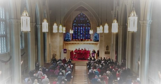 Christmas Eve Services on Sunday December 24th: 11 AM, 5 PM & 7:30 PM  image