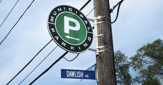 Welcome to Our New Green P Parking Lot! image