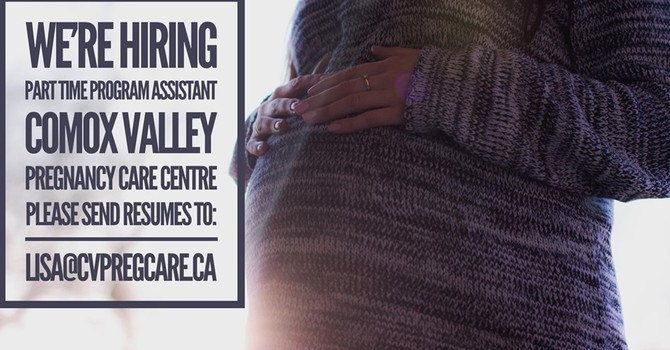 The Pregnancy Care Centre is Hiring image