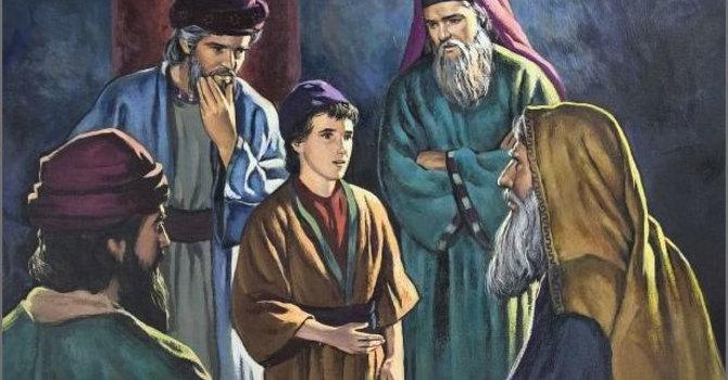 Luke 2:39-52 and Luke 3:21-22 image