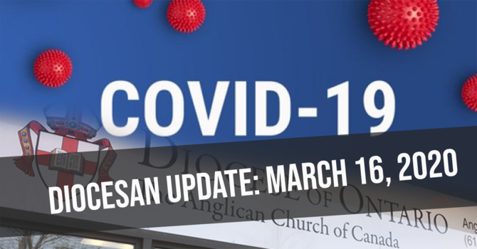 Diocesan Update - March 16, 2020 image