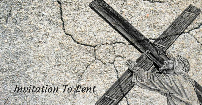 Invitation To Lent image