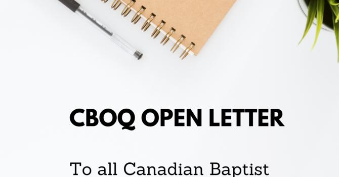 CBOQ Open Letter image