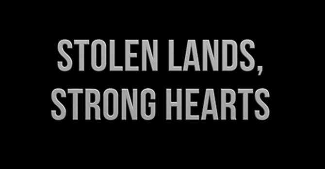 Stolen Lands, Strong Hearts: Lenten study for parishes image