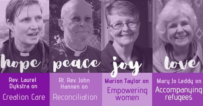Sign up to receive PWRDF reflections in your inbox daily during Advent image