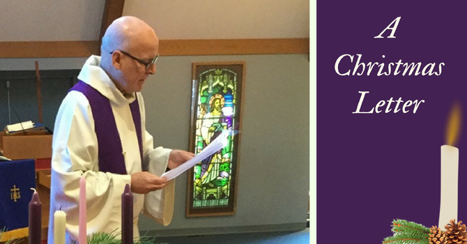 A Christmas Letter from our minister, Phil Zimmerman image