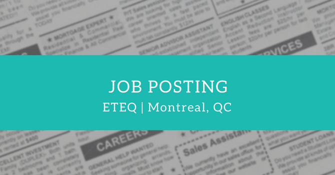 Job Posting: Director of Development & Office Manager at ETEQ image