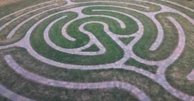 From Visioning to Reality - A Labyrinth at St. Dunstan's image