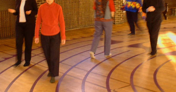 2nd Friday Labyrinth  Walk at St. Paul's