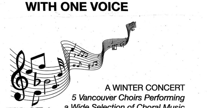 With One Voice - A Winter Concert