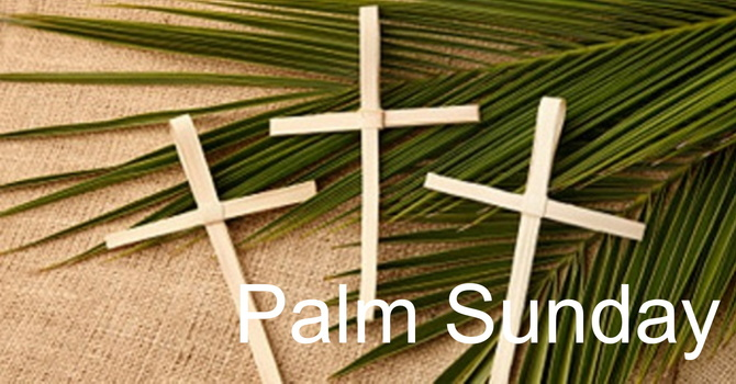 Watch Again: Palm Sunday Service image
