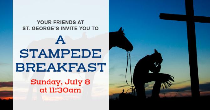 St. George's Stampede Breakfast image