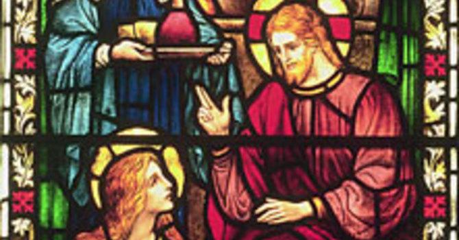 Genesis 18: 1-10a and Luke 10: 38-42 image