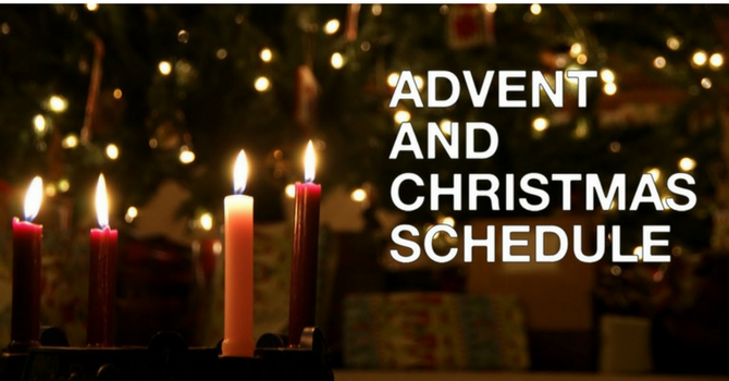 Advent & Christmas Services & Events image