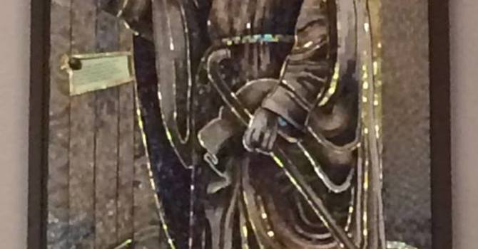 "Dedication of the ""Jesus Knocking on the Door"" Mosaic image"