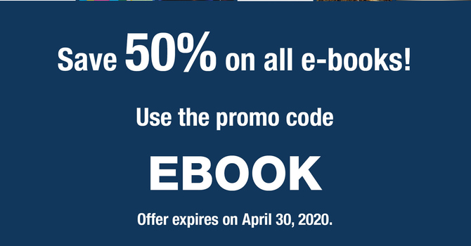 United Church Bookstore: 50% off All E-books!