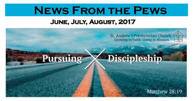 News from the Pews - June, July, August image