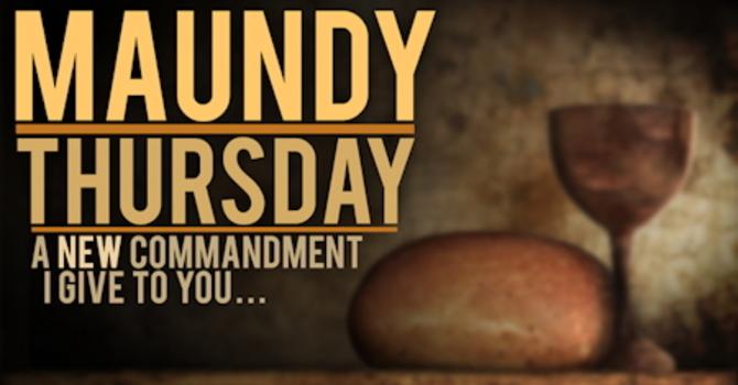 2013 - Maundy Thursday Service