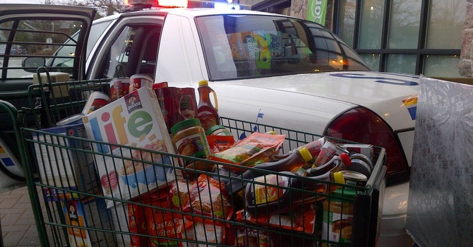 """Pack the Police Car"" Drive 2014 image"