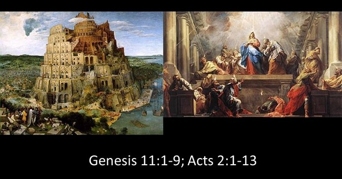 Babel vs. Pentecost