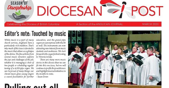 March 2020 Diocesan Post image