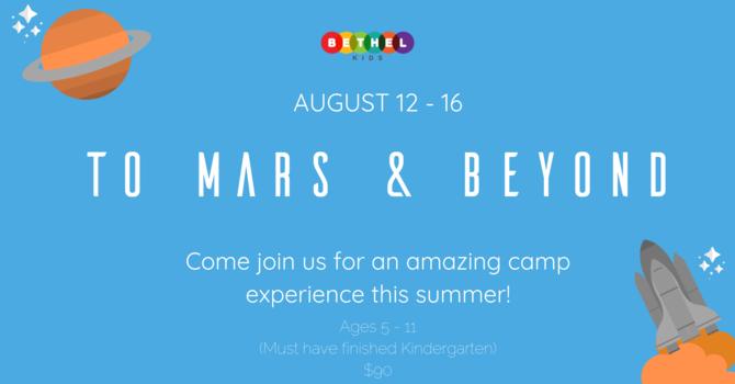 Bethel Kids Summer Camp 2019