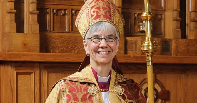 MELISSA SKELTON elected Archbishop of British Columbia image