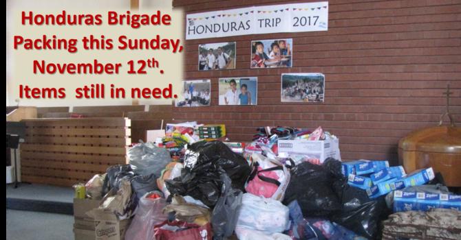 Honduras Donations image