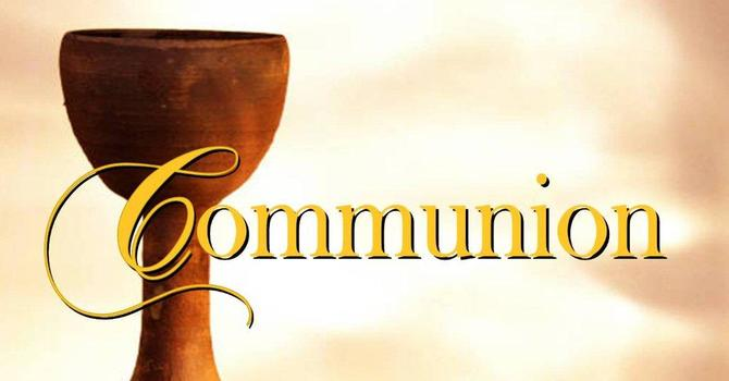 Communion & Sharing Service
