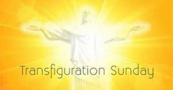 Transfiguration Sunday image