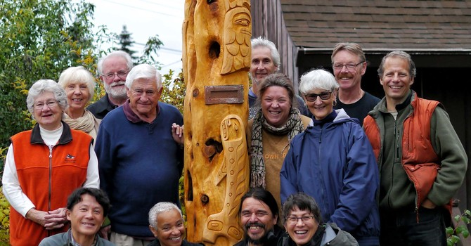 UPDATE - A Very Sacred Moment –Powell River Carving image