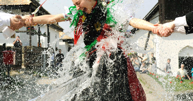 Can I  Water this Flower? ~ Hungarian Tradition image