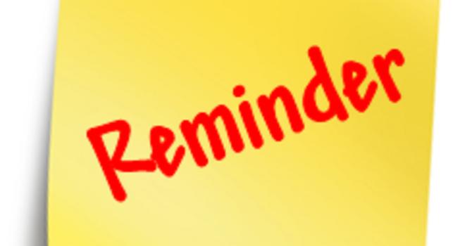 Volunteer Schedules Ready! image
