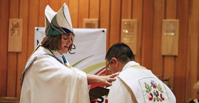 Bishop Collates Archdeacon for Indigenous Ministry