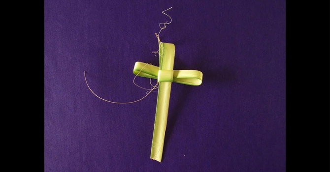 How to make Palm Crosses image