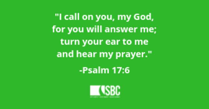 March Prayer Verse image
