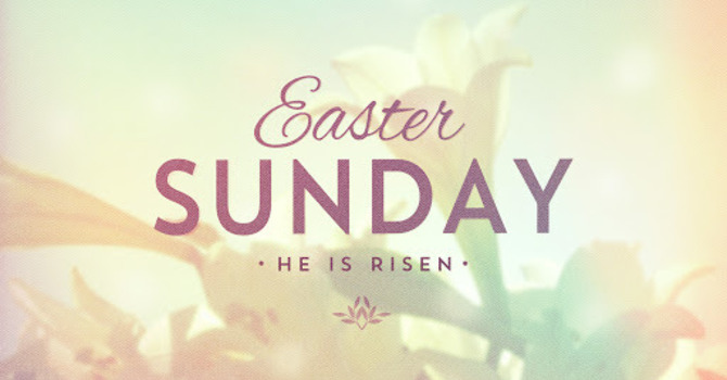 Easter Sunday Church Service image