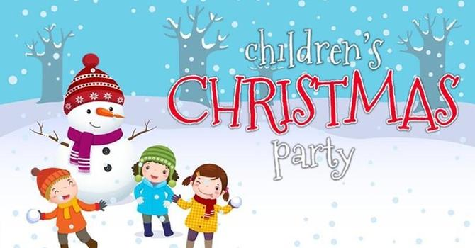 Chedoke Kid's Club Christmas Party ~ Thursday Dec. 5th @ 6 - 7 pm image