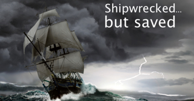 Shipwrecked by Anxiety; Saved by God's Love