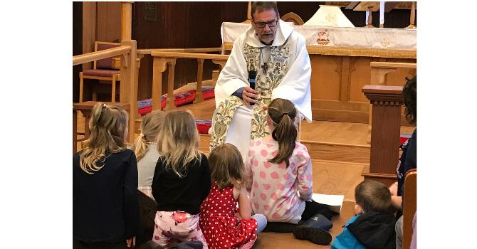 Children's Time, Easter Sunday